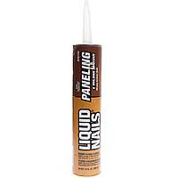 Жидкие гвозди Liquid Nails LN-910 296мл. Клей для панелей и молдингов Уценка