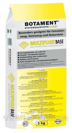 MULTIFUGE Base SANDGRAU 5 кг Многоцелевая затирка
