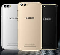 "Смартфон Doogee X30, 2/16Gb, 8+8/5+5Мп, 4 ядра, экран 5.5"" IPS, 2sim, 3360mAh, GPS, 3G, Android 7.0"