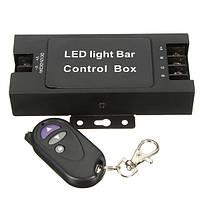 Удаленный беспроводной LED блок управления световая панель мигает контроллер стробоскопа