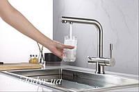 Смеситель для кухни Blue Water ZARA-INOX , фото 1