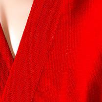 Самбовка, куртка+шорты(эластан), красный, рост 180, фото 2