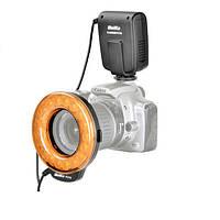 Meike FC110 FC-110 LED Фонарик с макро-кольцом с 7 переходными кольцами для Canon 6D 60D 1200D 550D 650D
