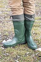 Мужские сапоги (Код: С-06 охотник зеленый)