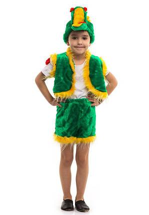 """Детский карнавальный меховой костюм """"Дракон"""" для мальчика, фото 2"""