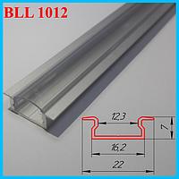 Встраиваемый профиль под LED ленту 3,0 м. Серебро