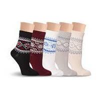Теплі жіночі шкарпетки оптом та в роздріб