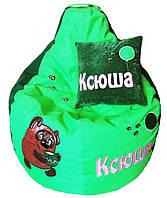 Детское Кресло бескаркасное мешок-пуф груша для девочки