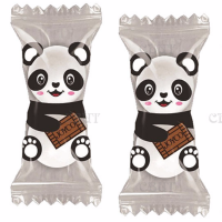 Шоколадные   фигурные   конфеты Zoo - Zoo Панда  с кремовой начинкой
