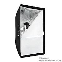 Godox портативный 60 х 90 см зонтик фото софтбокс отражатель для вспышки Speedlight
