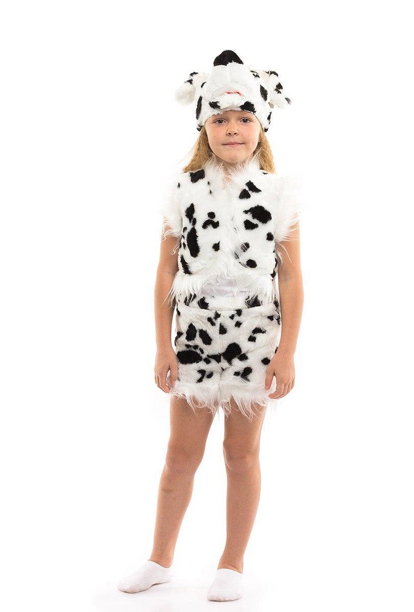 """Детский карнавальный меховой костюм """"Далматинец"""" для мальчика (2 цвета)"""