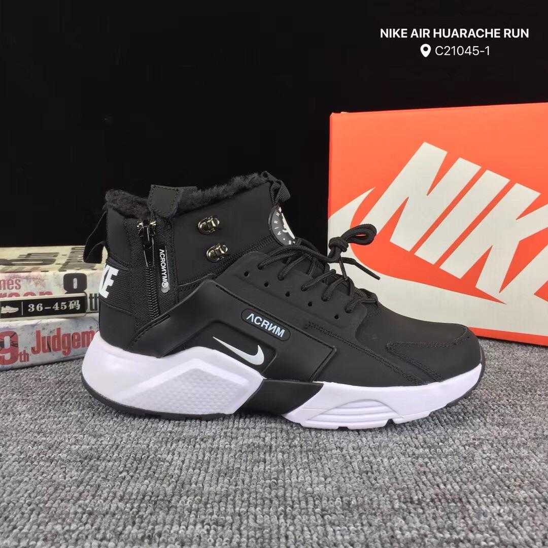 a0f6f026 Кроссовки ACRONYM X Nike Air Huarache Run Зимние с Мехом Реплика 40 ...