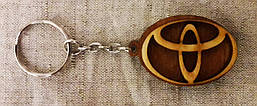 Автомобільний Брелок Toyota (Тойота), брелоки для автомобільних ключів, брелоки, авто брелок