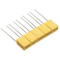 50 штук 1nF-0.47uF 10 Value Полипропиленовая пластиковая пленка-конденсатор Набор