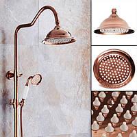 203x130mm Роскошный европейский хром Золотой цветной спрей для душа Ванная комната Аксессуары для ванны для ванны