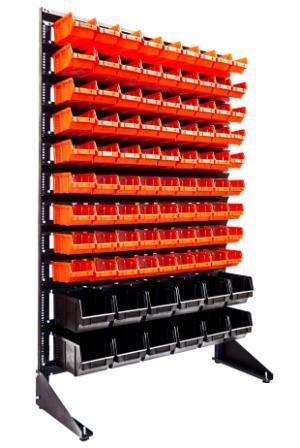 Торговый стеллаж для мастерской с ящиками, фото 1