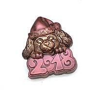 Новогодние сувениры 2018. Шоколадная собачка