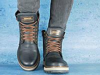 Мужские зимние ботинки Zangak Exclusive Черный