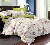 Полуторное постельное белье Болонья, сатин 100%хлопок