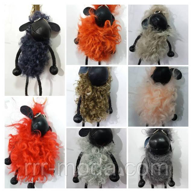 Мягкие меховые брелки игрушки оптом в Украине. Модные аксессуары из натурального меха.