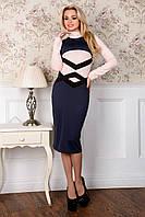 Стильное удлинённое яркое платье 22, фото 1