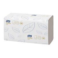 Бумажные полотенца сложения Interfold Tork Premium белые, узкопанел., 110л., 2 сл.