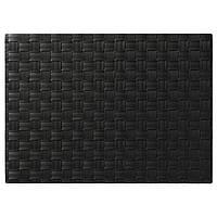 IKEA ORDENTLIG Салфетка под приборы черная  (001.752.31)