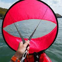 42 дюймов Подветренный ветер Paddle Popup Board Каяк Парус Парус для яхт Аксессуары ПВХ Красный