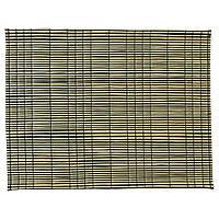 IKEA MODA Салфетка под приборы, морская трава, натуральная, черная  (503.428.74)
