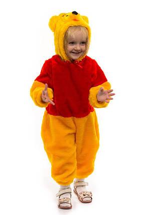 """Детский карнавальный меховой комбинезон """"Винни Пух"""" для малышей, фото 2"""