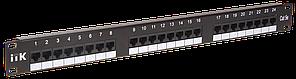 ITK 1U Модульная патч-панель FTP, 24 порта (PP24-1UMF)
