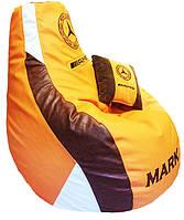 Детское Кресло бескаркасное мешок-пуф груша Спорт