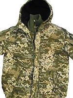 """Куртка утепленная """"Горка-Барс"""" цвет пиксель"""