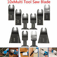 10 штук Multitool Saw Blade Аксессуары для Dewalt Stanley Black and Decker Bosch Multitool