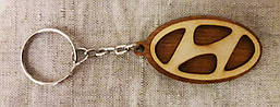 Автомобільний Брелок Hyundai (Хундай), брелоки для автомобільних ключів, брелоки, авто брелок