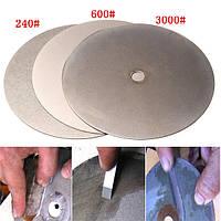 3шт 6 дюймов 240 600 3000 грит алмазный режущий диск алмазный шлифовальный с алмазным покрытием диска