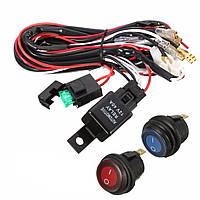 40A 12v LED световая панель жгута проводов реле включения/выключения для джипа от транспортных средств Atv