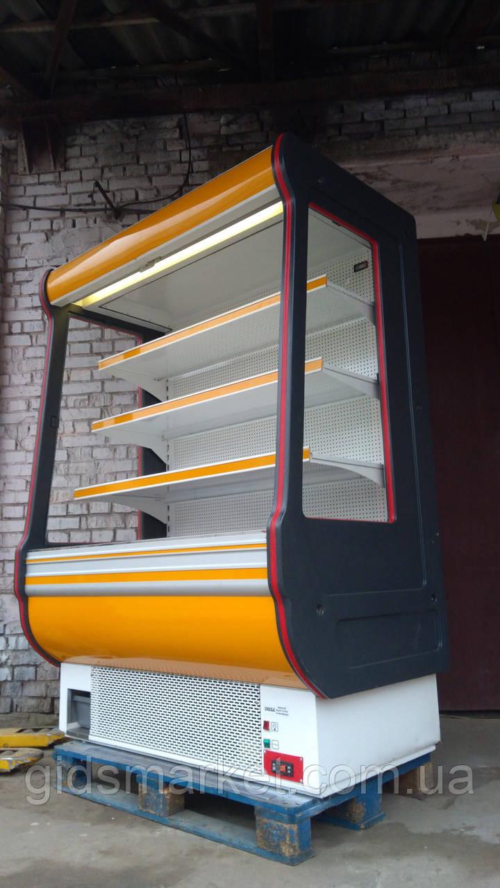 Регал холодильна шафа COLD б/у, холодильна гірка бо , регал б.у