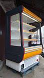 Регал холодильна шафа COLD б/у, холодильна гірка бо , регал б.у, фото 2