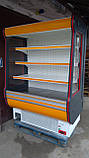 Регал холодильна шафа COLD б/у, холодильна гірка бо , регал б.у, фото 5
