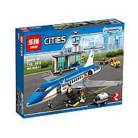 """Конструктор Lepin 02043 (аналог Lego City 60104) """"Пассажирский терминал в аэропорту"""", 718 дет"""