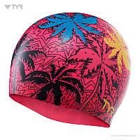 Силиконовая шапочка для плавания TYR Island Breeze