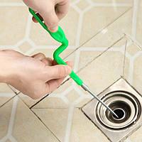 Удаление волос дренажный инструмент драги труба канализационная пылесос крюк кухня раковина очиститель инструмент