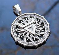 Славянский амулет Печать Велеса ювелирная бижутерия, фото 1