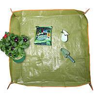 35x35 дюймов ПЭ покрытие вазон брезент садоводства трансплантат обрезку земля коврик