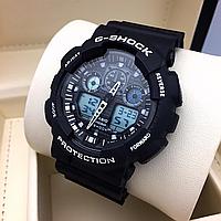 Мужские спортивные часы, чоловічий спортивний годинник Casio G-Shock GA-100, касио джи шок