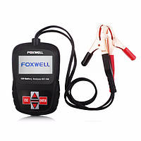 FOXWELL BT100 12v автомобиля цифровой анализатор батареи тестер для затопленной, AGM, гель