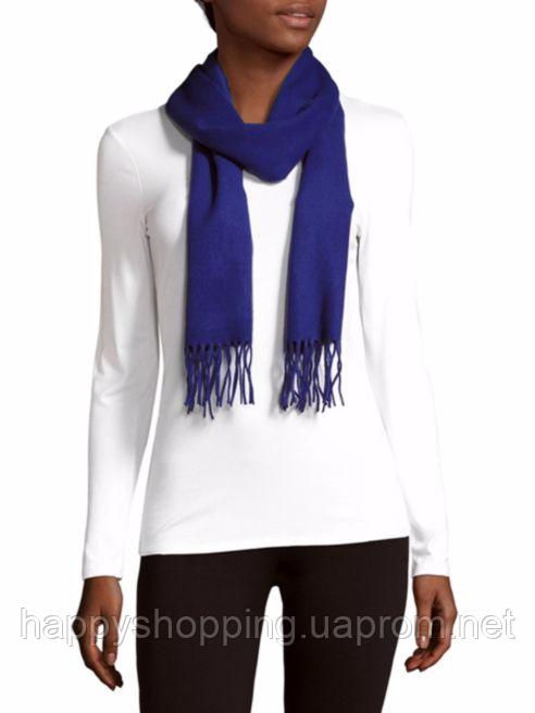 Синий шарф Calvin Klein