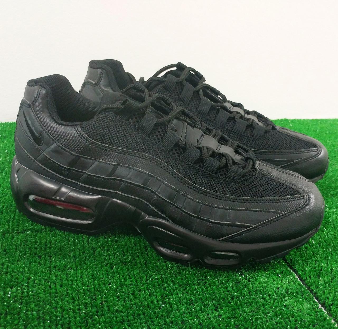 44ff9598e9ea Кроссовки Nike Air Max 95 Full Black, в наличии!  продажа, цена в ...