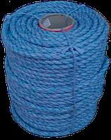 Канат п/п кручений  12 мм*100 м синій